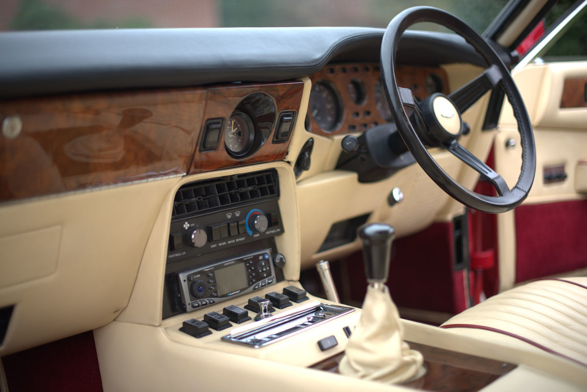 1985 Aston Martin V8 Vantage Sports Saloon For Sale (picture 11 of 15)
