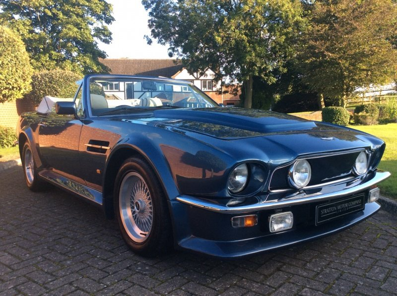 1987 Aston Martin V8 Vantage X-Pack Volante 5.3 Manual For Sale (picture 1 of 17)
