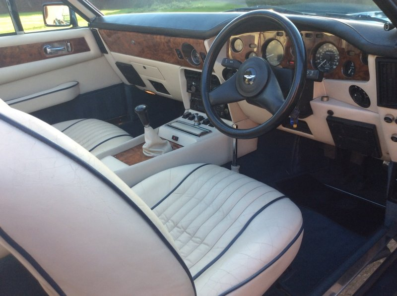 1987 Aston Martin V8 Vantage X-Pack Volante 5.3 Manual For Sale (picture 8 of 17)