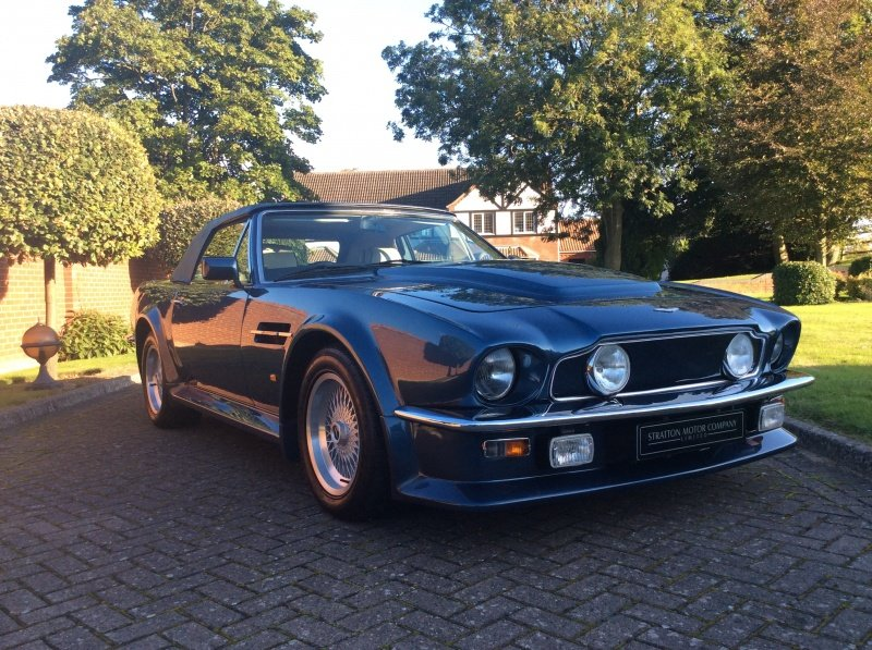 1987 Aston Martin V8 Vantage X-Pack Volante 5.3 Manual For Sale (picture 9 of 17)