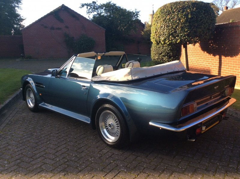 1987 Aston Martin V8 Vantage X-Pack Volante 5.3 Manual For Sale (picture 11 of 17)