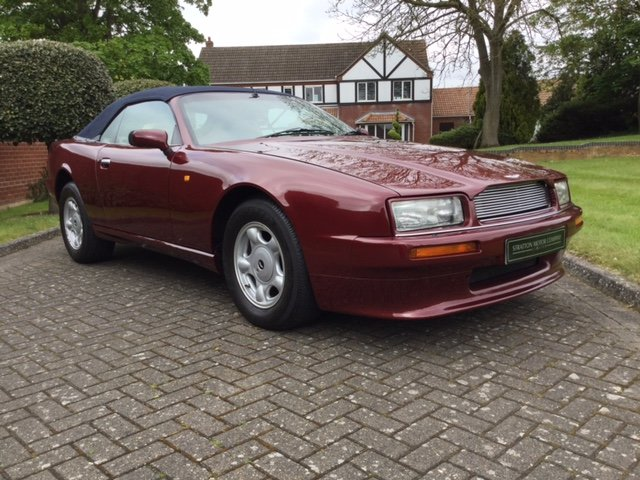 1992 Aston Martin Virage Volante For Sale (picture 1 of 16)