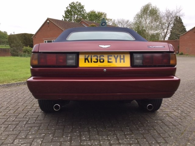 1992 Aston Martin Virage Volante For Sale (picture 3 of 16)