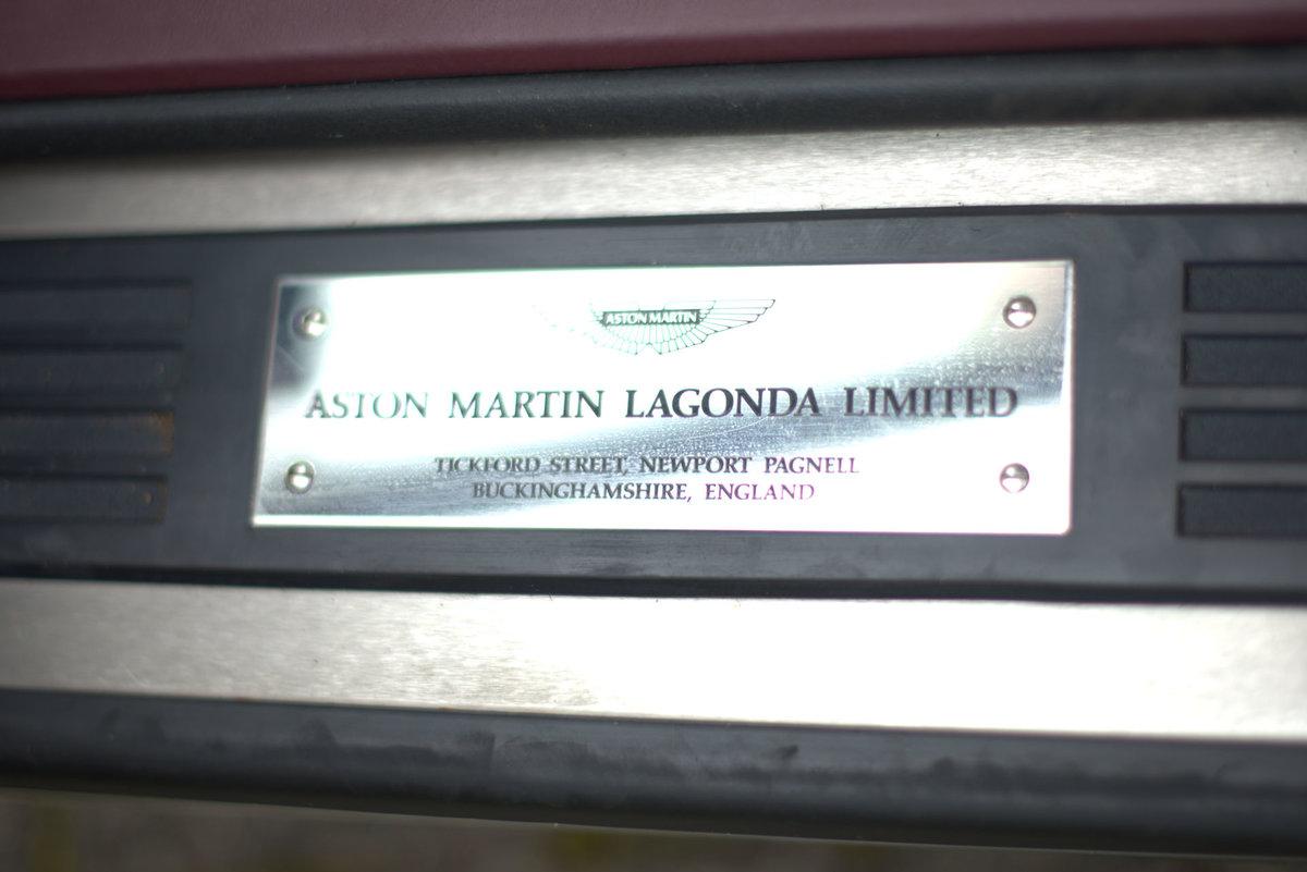 1998 Aston Martin V8 Volante LWB For Sale (picture 9 of 15)