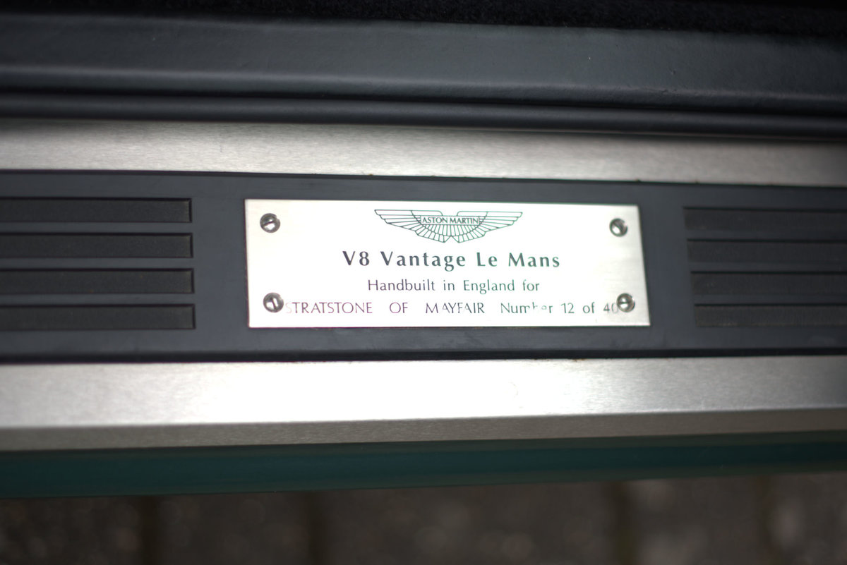 2000 Aston Martin Le Mans V600 For Sale (picture 14 of 17)