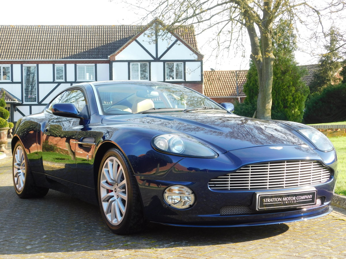 2003 Aston Martin Vanquish For Sale (picture 1 of 13)