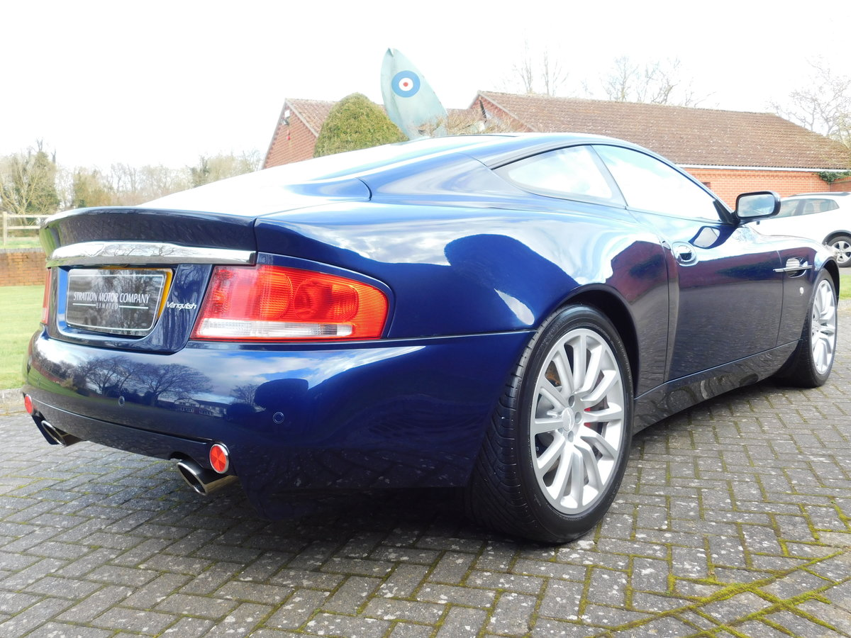 2003 Aston Martin Vanquish For Sale (picture 2 of 13)