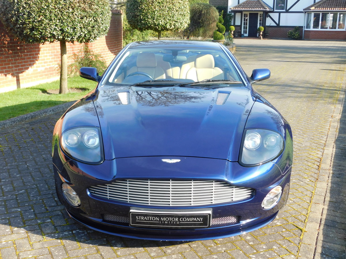 2003 Aston Martin Vanquish For Sale (picture 10 of 13)