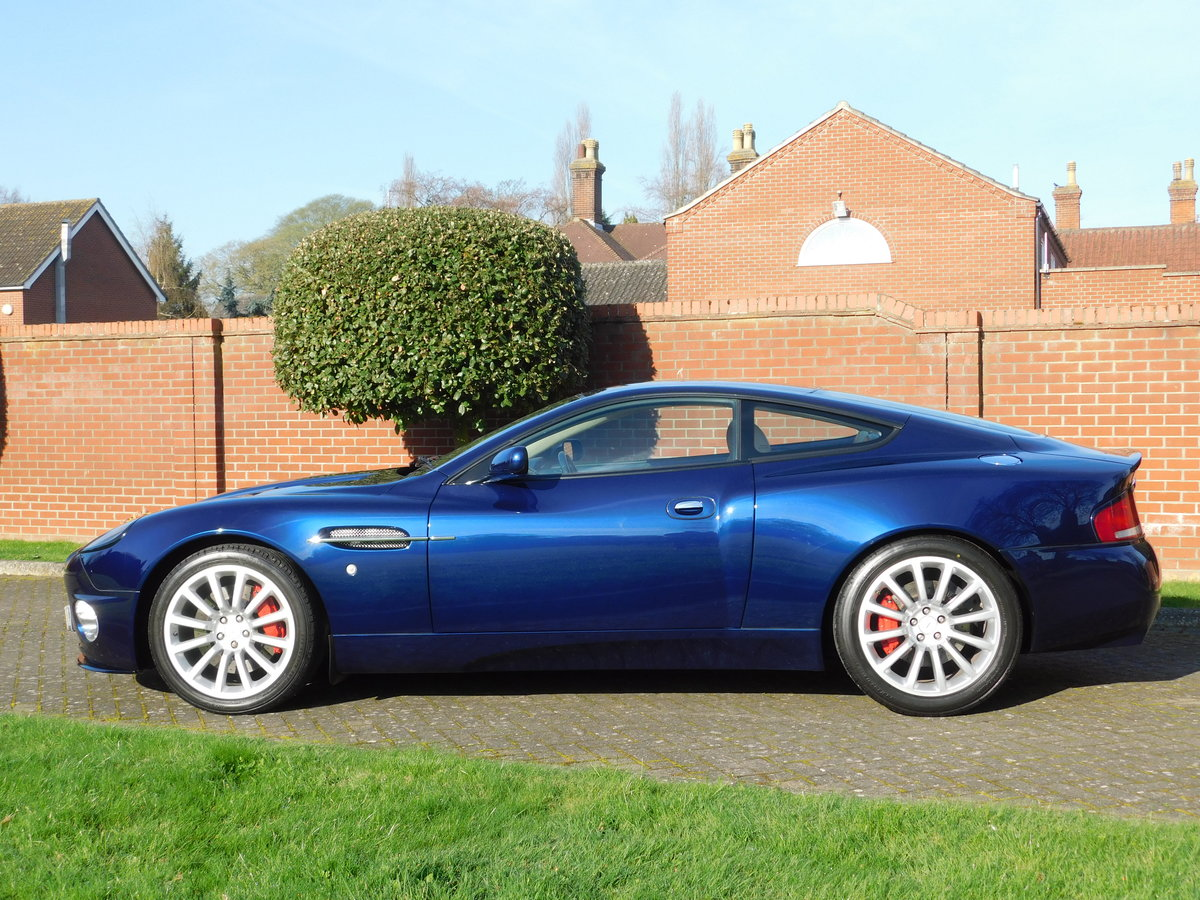 2003 Aston Martin Vanquish For Sale (picture 11 of 13)