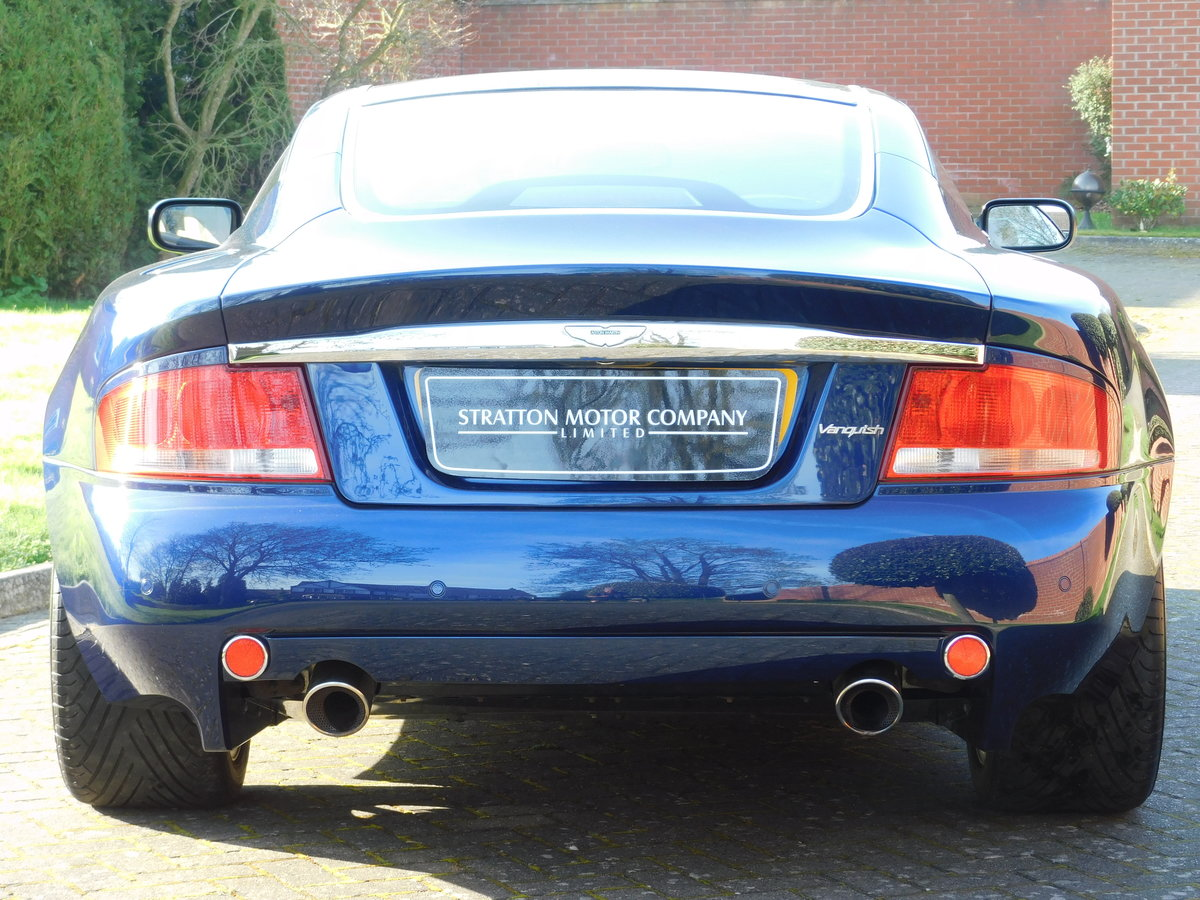 2003 Aston Martin Vanquish For Sale (picture 12 of 13)