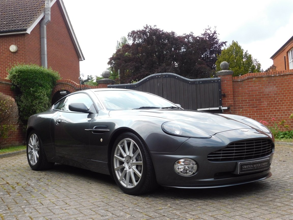 2006 Low Mileage Aston Martin Vanquish S For Sale (picture 1 of 11)