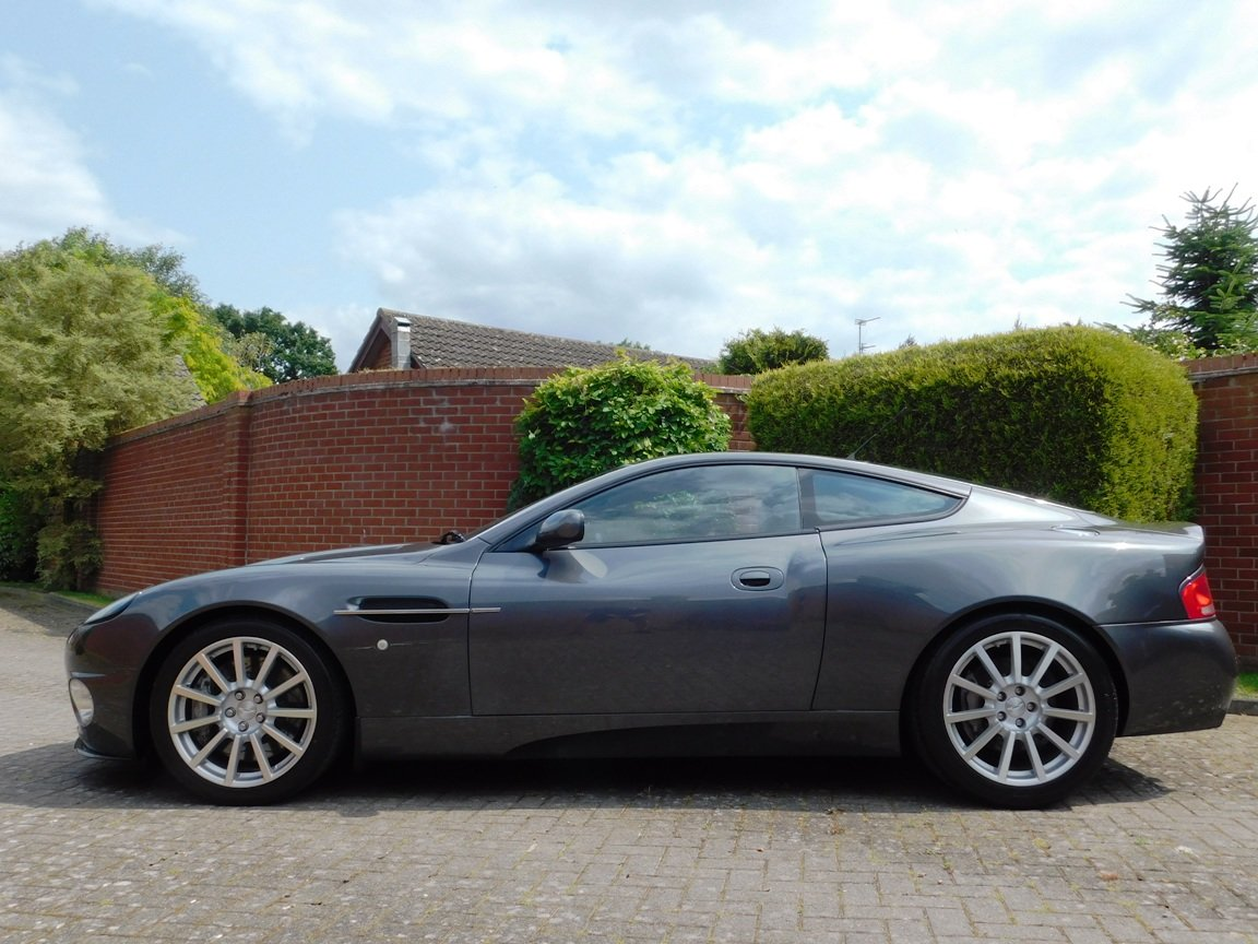 2006 Low Mileage Aston Martin Vanquish S For Sale (picture 3 of 11)