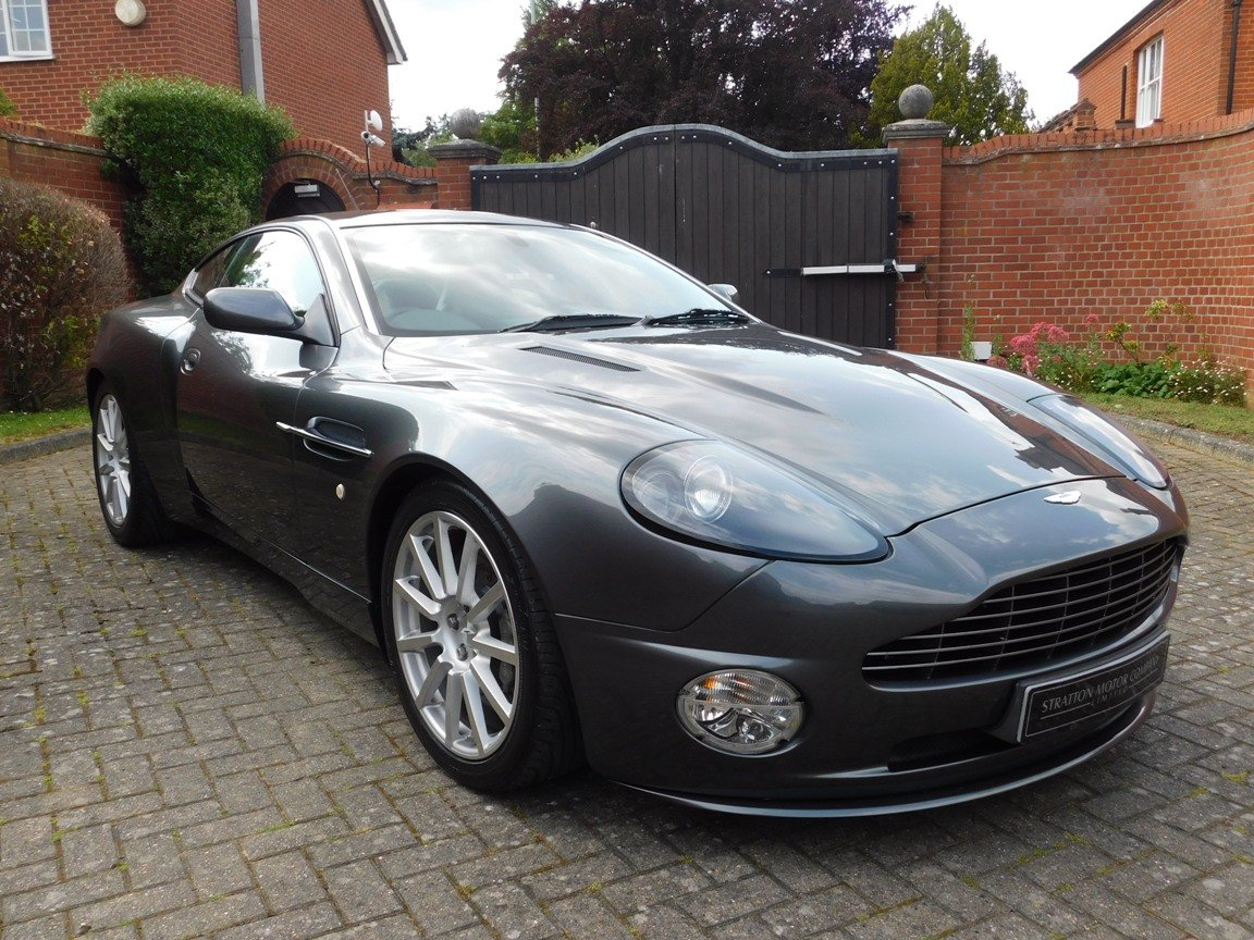 2006 Low Mileage Aston Martin Vanquish S For Sale (picture 11 of 11)