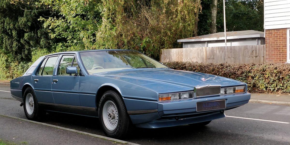 1986 Aston Martin Lagonda rare Series 3 restored For Sale (picture 1 of 6)