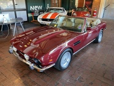 1985 Aston Martin V8 Volante LHD clean Red(~)Tan Rare $359.9k