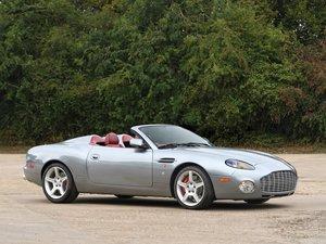2003 Aston Martin DB AR1 Zagato For Sale by Auction