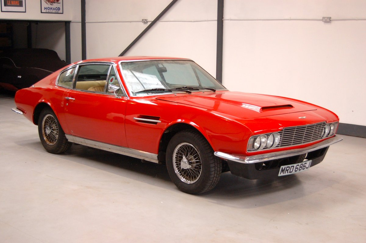 1970 Aston Martin DBS PROJECT SOLD (picture 1 of 6)