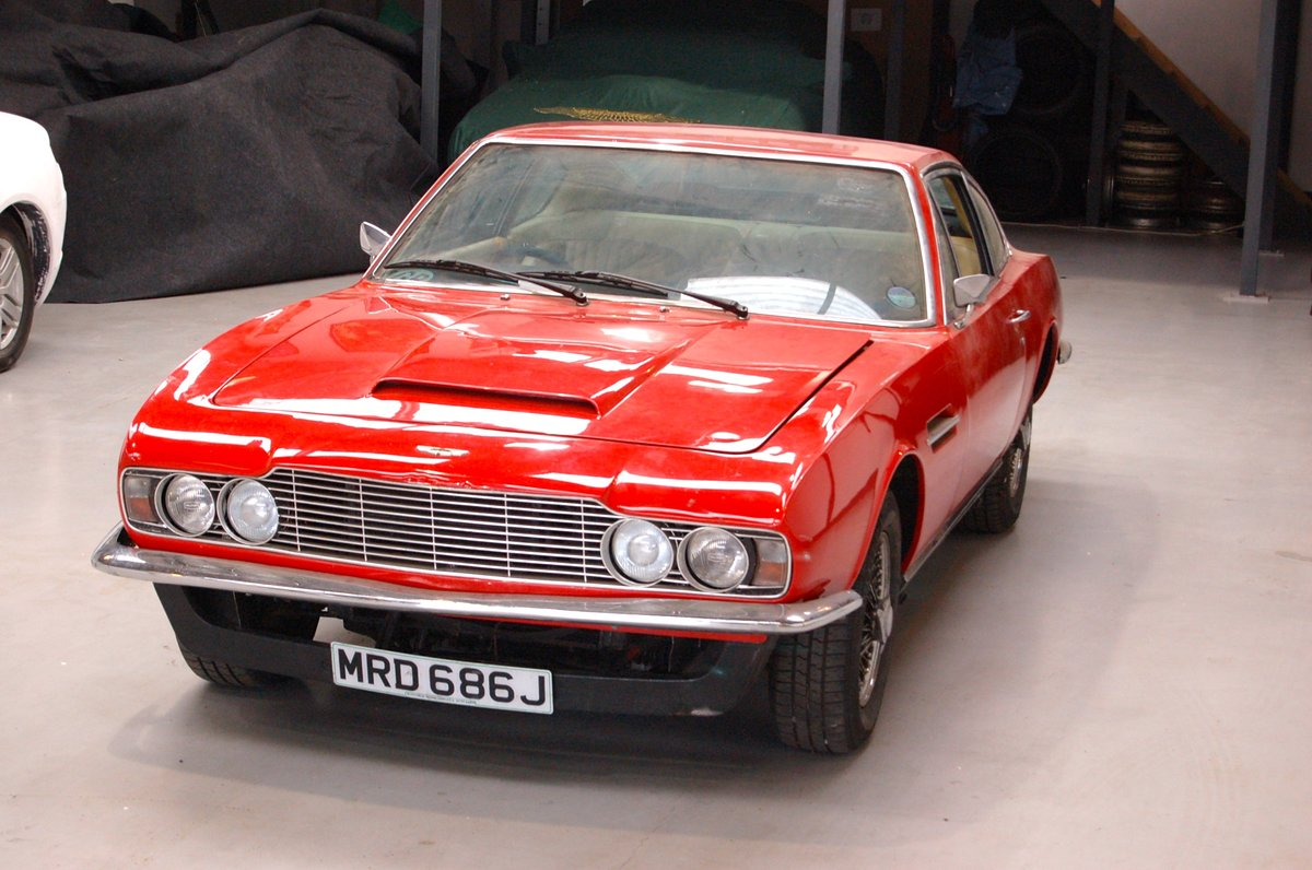 1970 Aston Martin DBS PROJECT SOLD (picture 5 of 6)