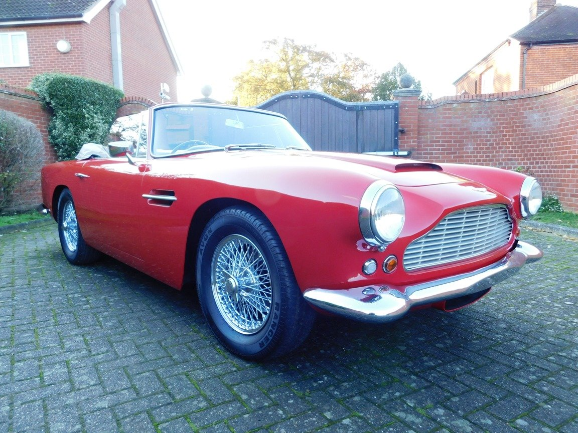 1962 Aston Martin DB4 Series 5 Vantage Convertible For Sale (picture 1 of 16)