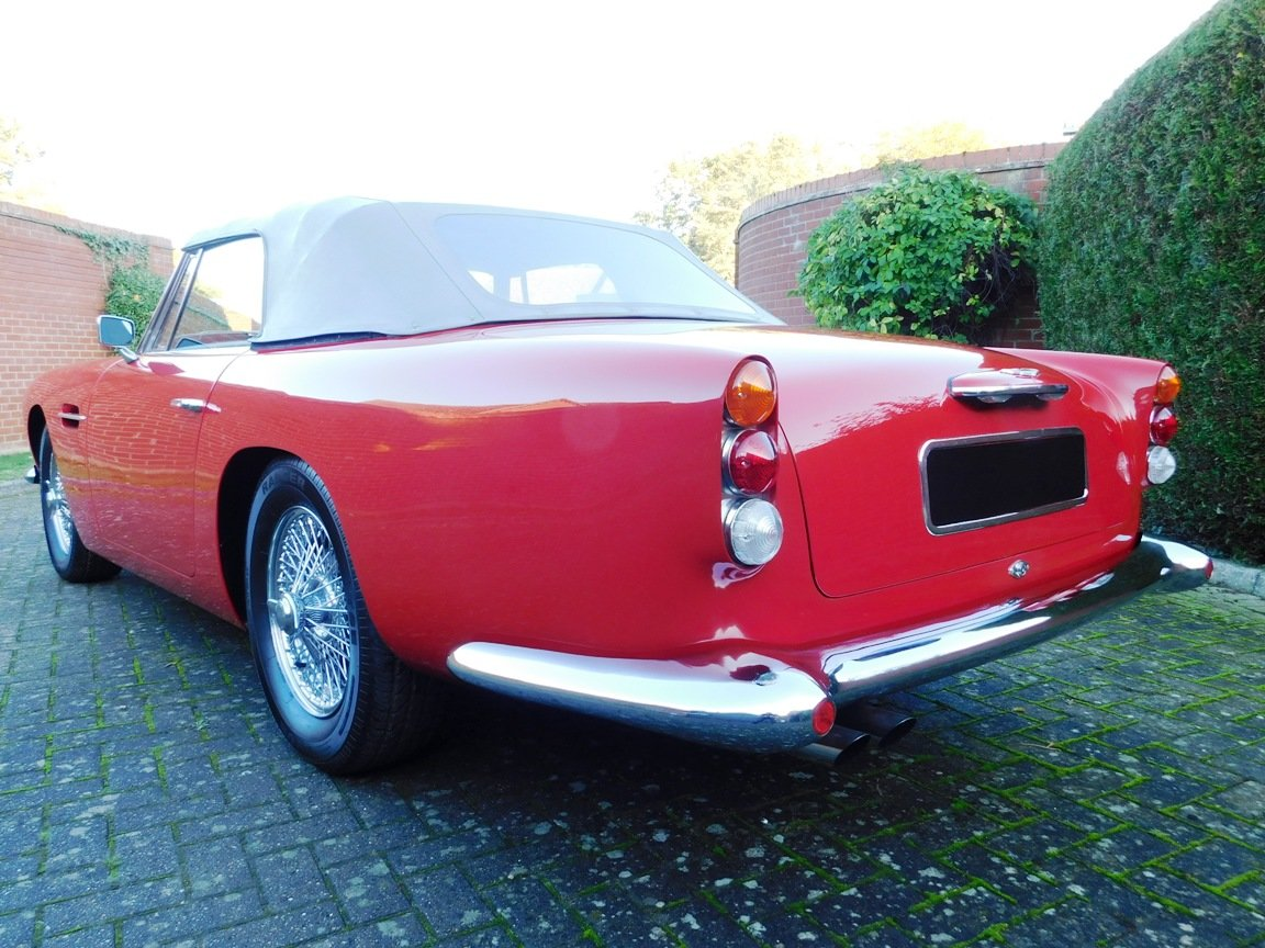 1962 Aston Martin DB4 Series 5 Vantage Convertible For Sale (picture 5 of 16)