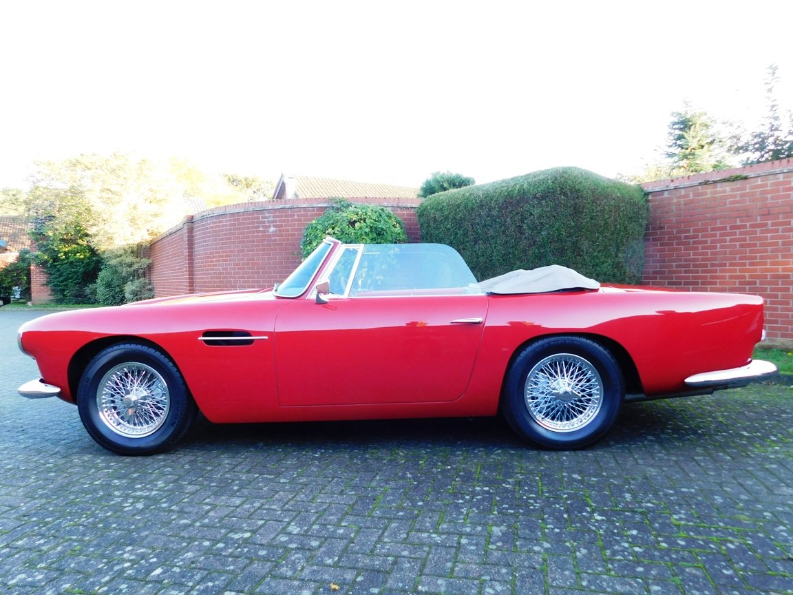 1962 Aston Martin DB4 Series 5 Vantage Convertible For Sale (picture 16 of 16)