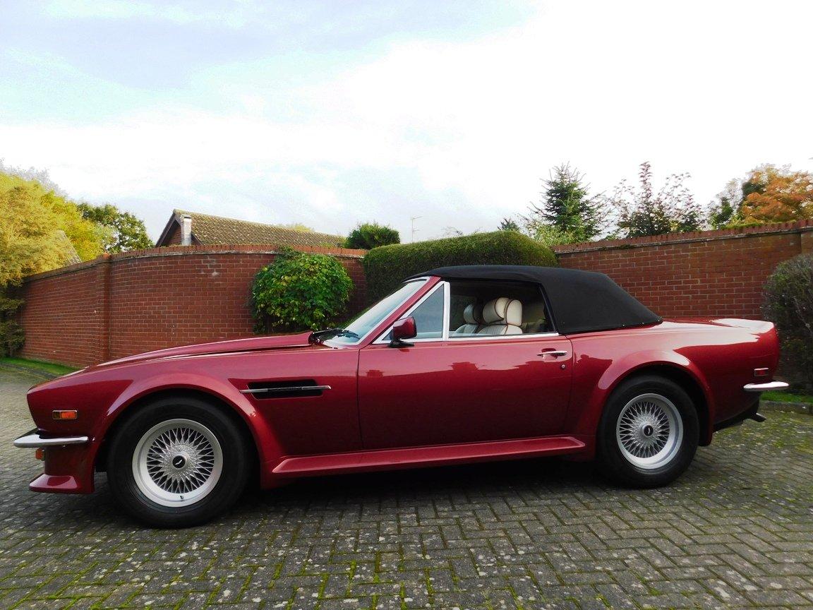 1988 Aston Martin V8 Vantage Volante LHD For Sale (picture 17 of 17)