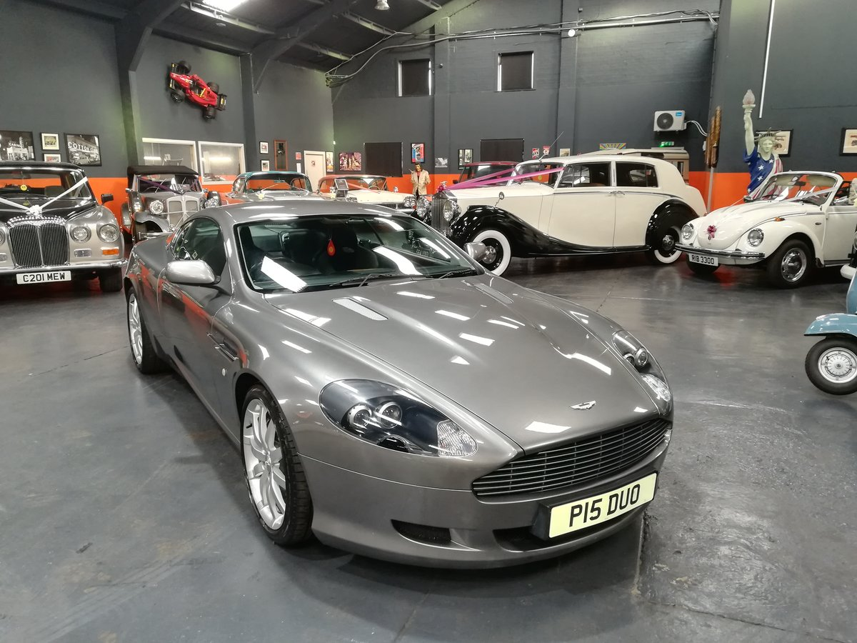 2004 ASTON MARTIN DB9 5.9 V12 2d AUTO 451 BHP For Sale (picture 1 of 6)