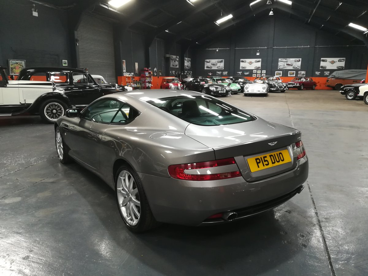 2004 ASTON MARTIN DB9 5.9 V12 2d AUTO 451 BHP For Sale (picture 2 of 6)