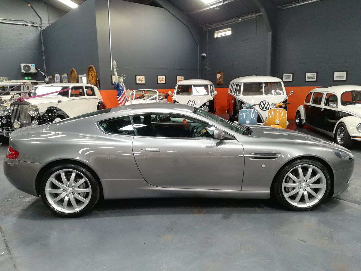 2004 ASTON MARTIN DB9 5.9 V12 2d AUTO 451 BHP For Sale (picture 3 of 6)