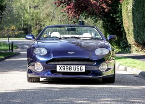 2001 Aston Martin DB7 Vantage Volante SOLD by Auction