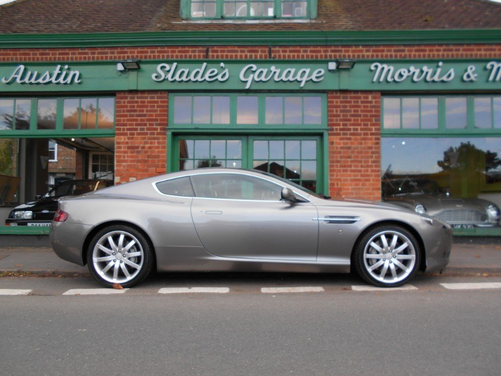 2005 Aston Martin DB9 Coupe Touchtronic For Sale (picture 1 of 4)
