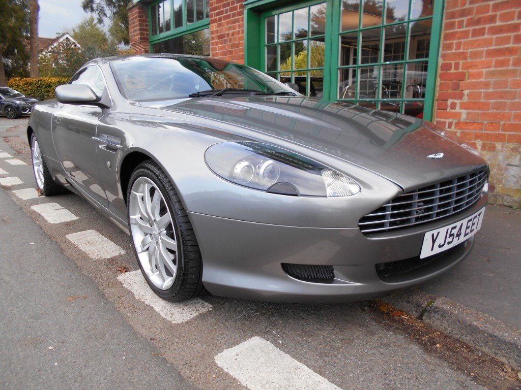 2005 Aston Martin DB9 Coupe Touchtronic For Sale (picture 2 of 4)