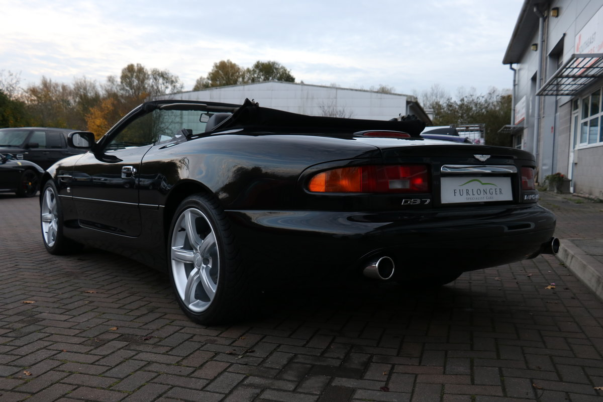 2003 Aston Martin DB7 Vantage Volante - Superb History! For Sale (picture 3 of 6)