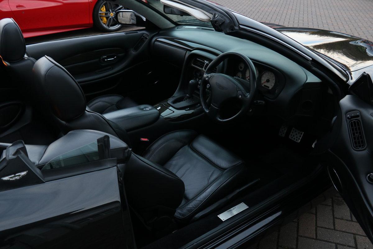 2003 Aston Martin DB7 Vantage Volante - Superb History! For Sale (picture 4 of 6)