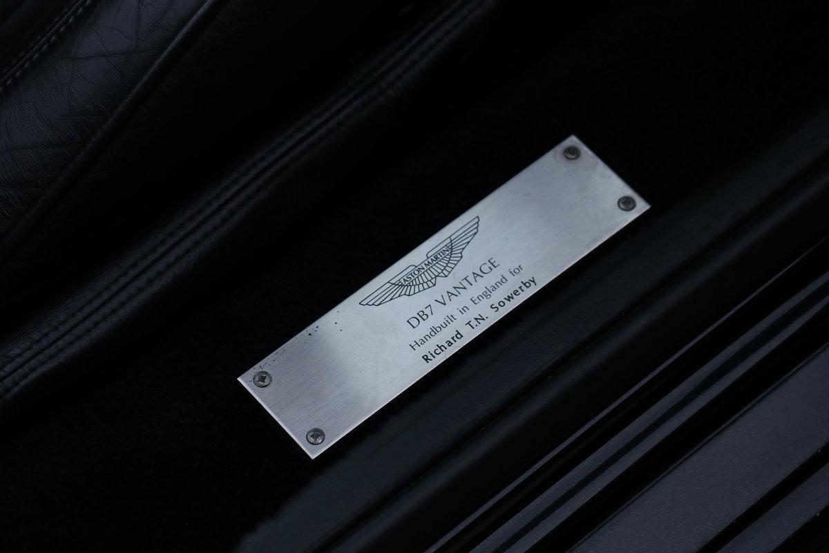 2003 Aston Martin DB7 Vantage Volante - Superb History! For Sale (picture 5 of 6)