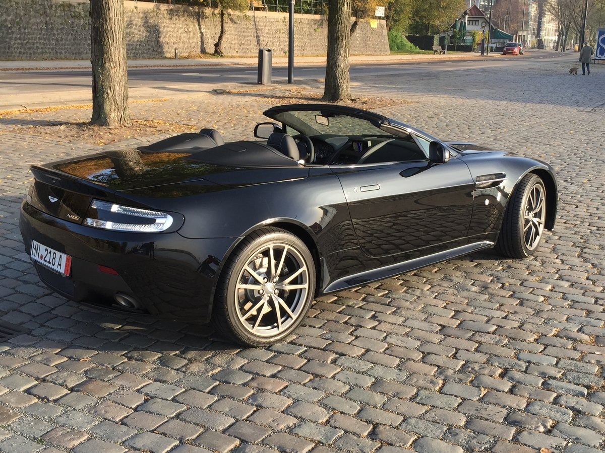 2015 Aston Martin Vantage N430 Roadster LHD For Sale (picture 1 of 3)