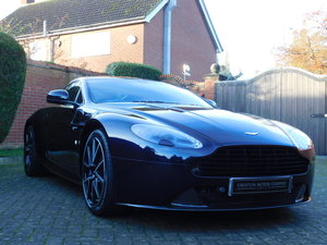 2014 Aston Martin V8 Vantage S Manual Coupe