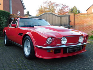 1989 Aston Martin V8 Vantage 'X-Pack' Sports Saloon For Sale