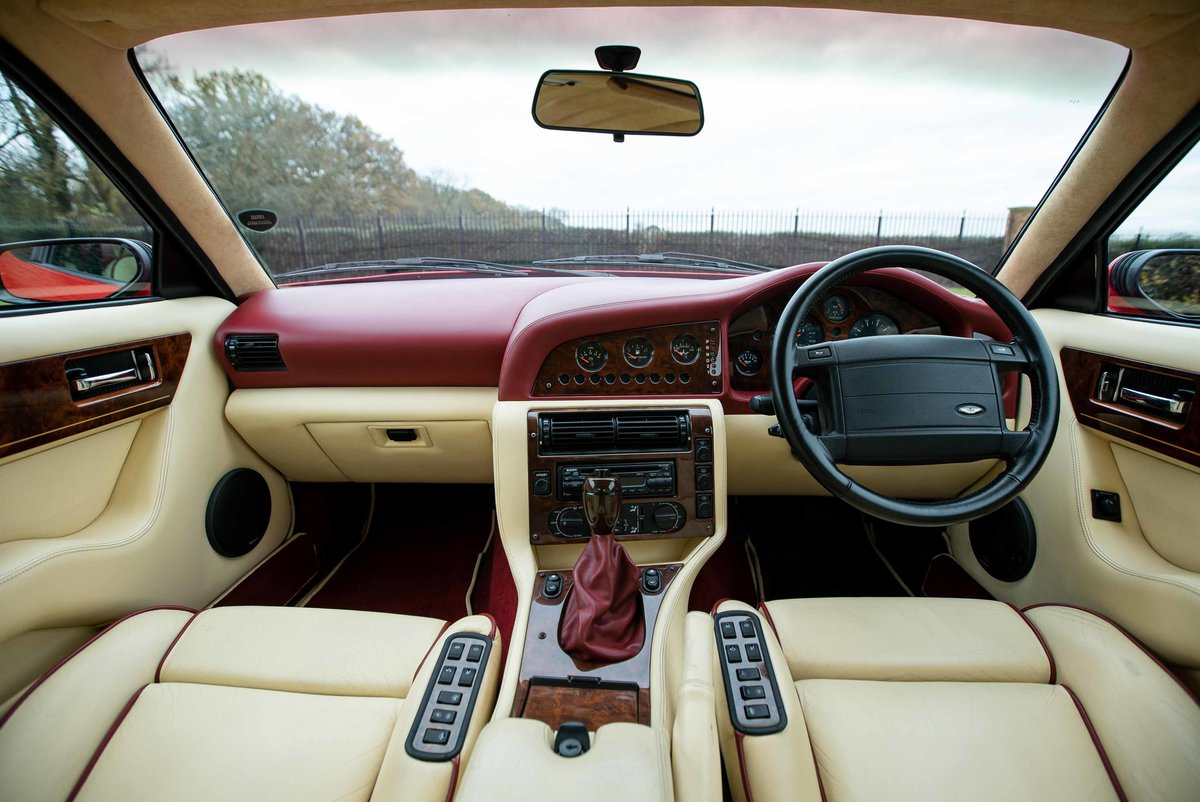 1994 Aston Vantage V550 Coupe ...Rare Auto & low miles For Sale (picture 5 of 6)