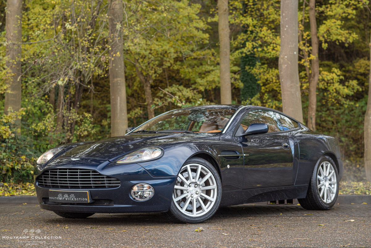 2006 ASTON MARTIN VANQUISH, a future icon For Sale (picture 1 of 6)
