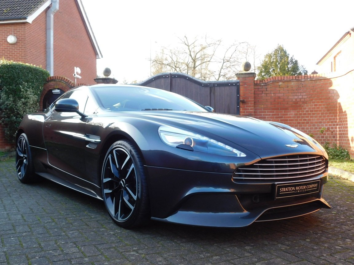 2015 Aston Martin V12 Vanquish Coupe SOLD (picture 1 of 13)