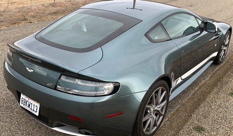 2015 Aston Martin Vantage GT   Jade(~)Black Manual  $69.9k For Sale (picture 2 of 6)
