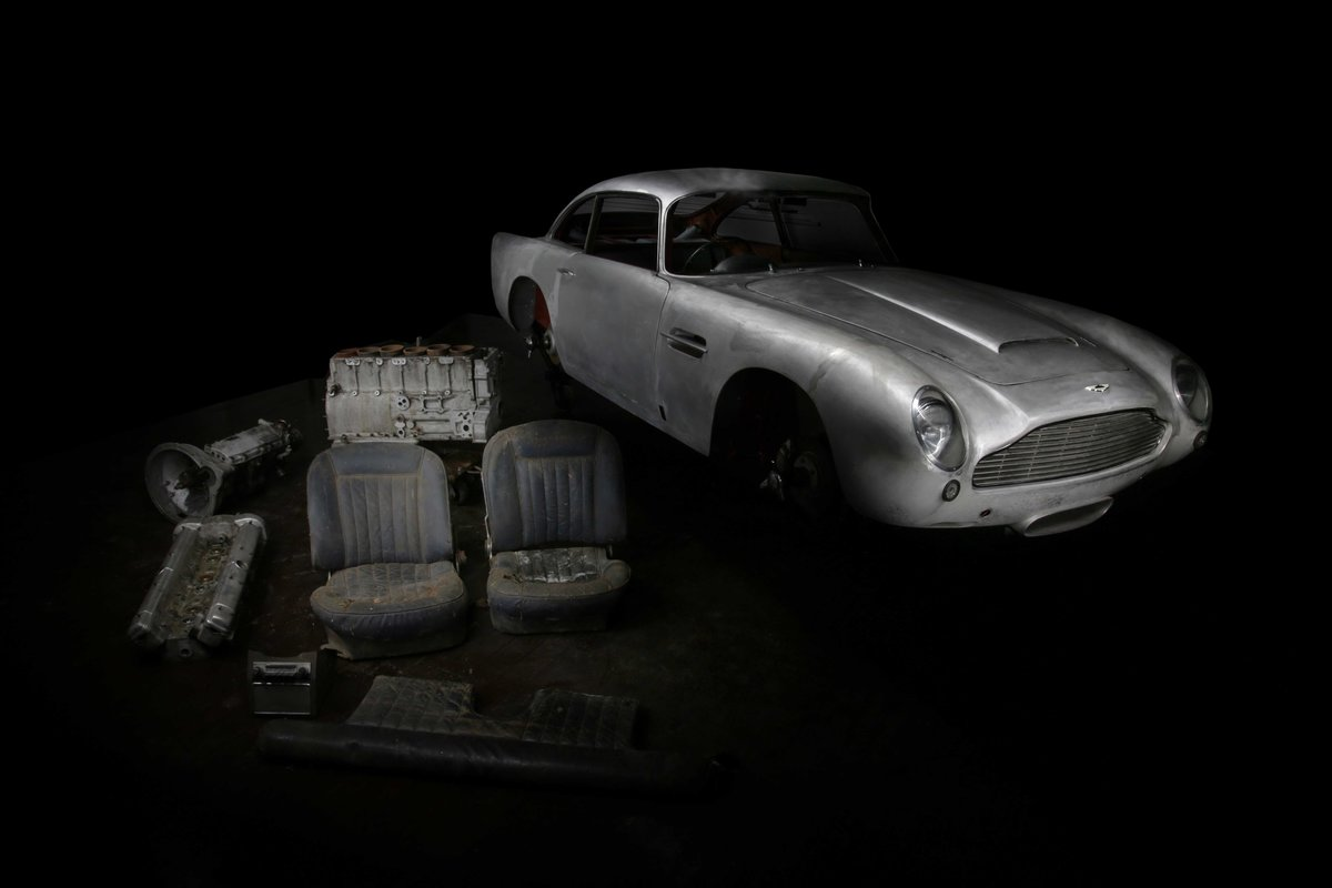 1966 Aston Martin DB5 Project - Ex Ian Mason Racing SOLD (picture 1 of 6)
