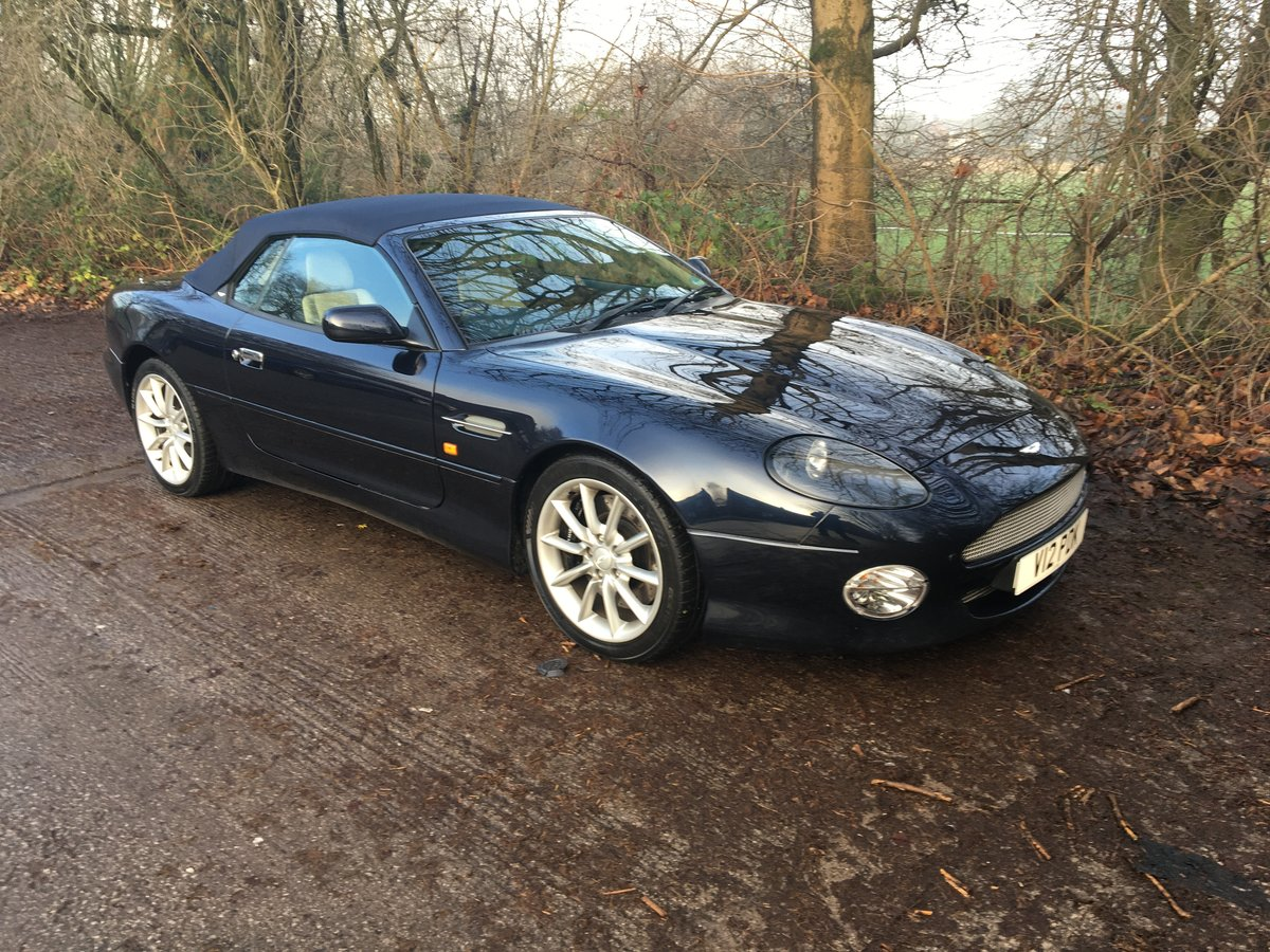 2002 DB7 Volante One owner from new For Sale (picture 1 of 6)