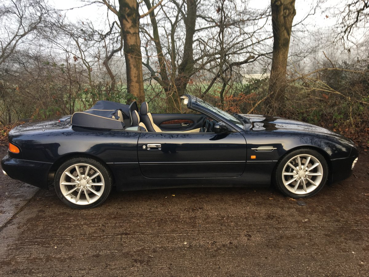 2002 DB7 Volante One owner from new For Sale (picture 3 of 6)