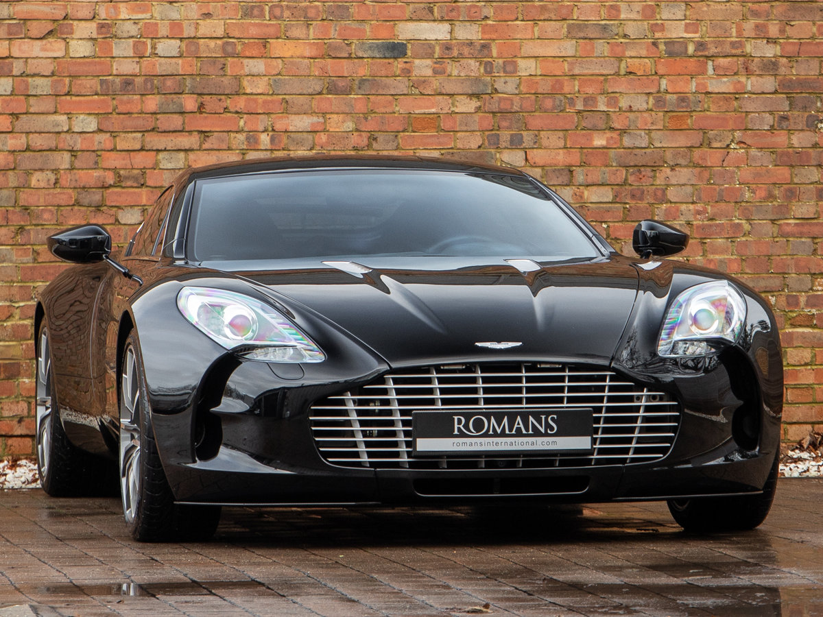 2011 Aston Martin ONE-77 SOLD (picture 1 of 6)
