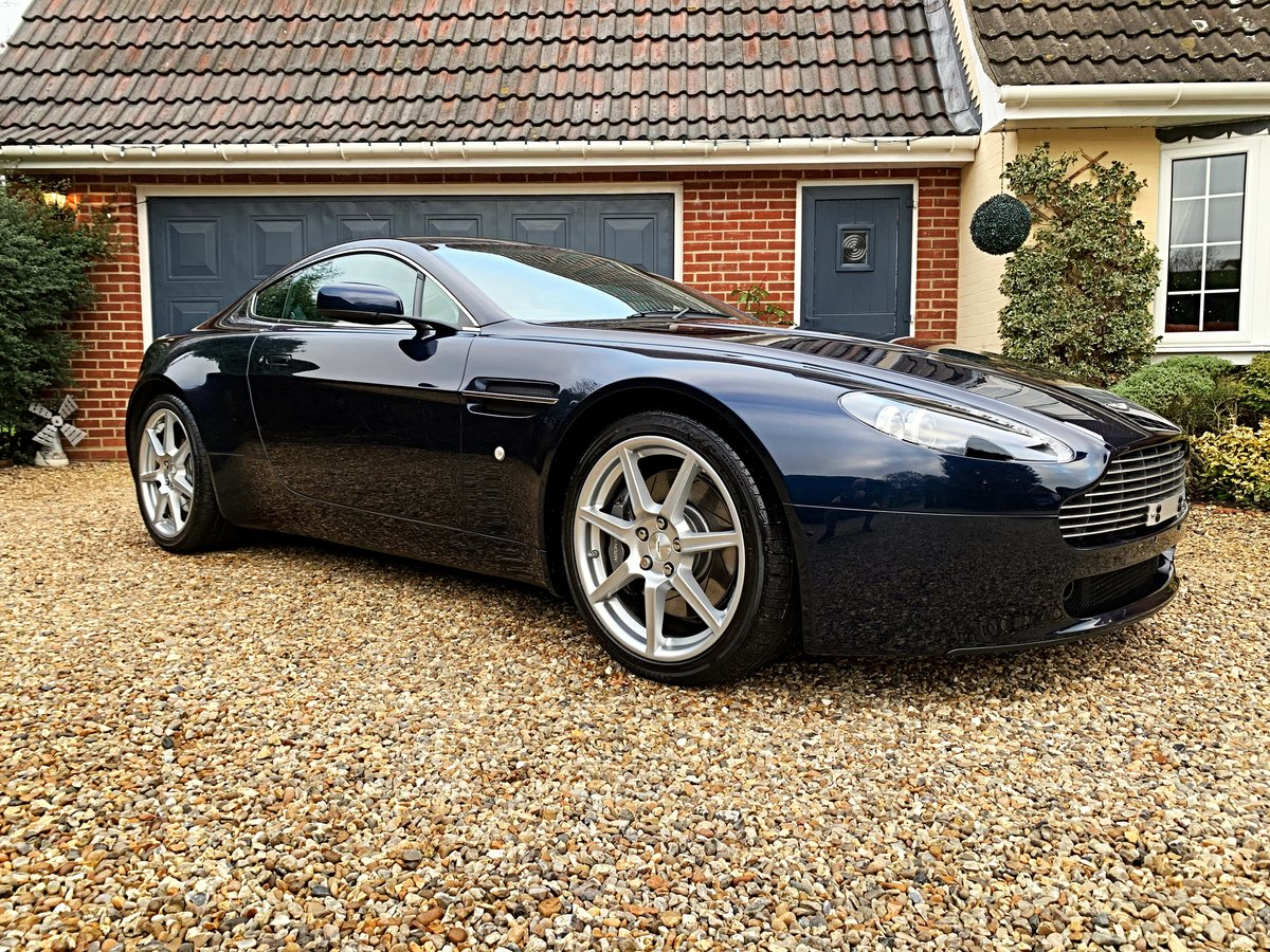 2006 Aston Martin V8 Vantage Coupe (NOW SOLD SIMILAR REQUIRED) For Sale (picture 1 of 6)