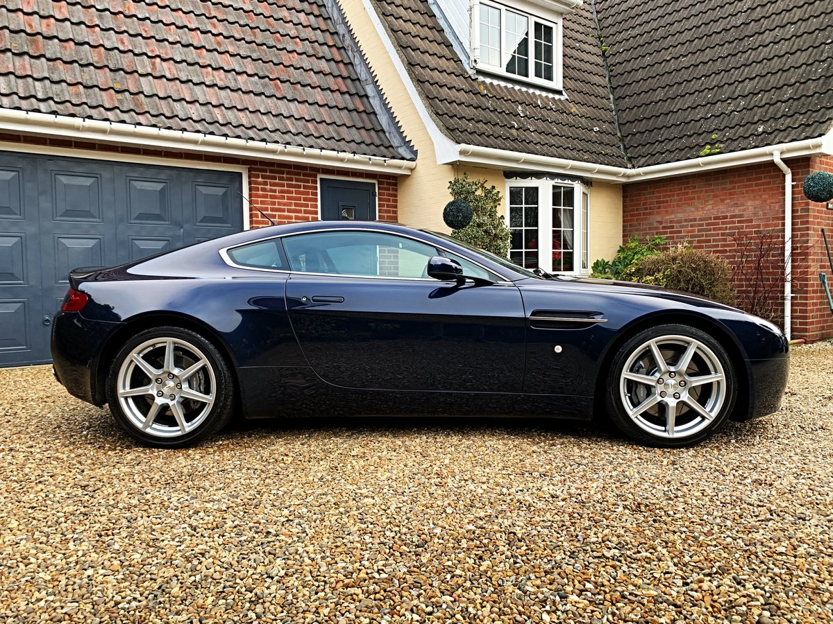 2006 Aston Martin V8 Vantage Coupe (NOW SOLD SIMILAR REQUIRED) For Sale (picture 2 of 6)