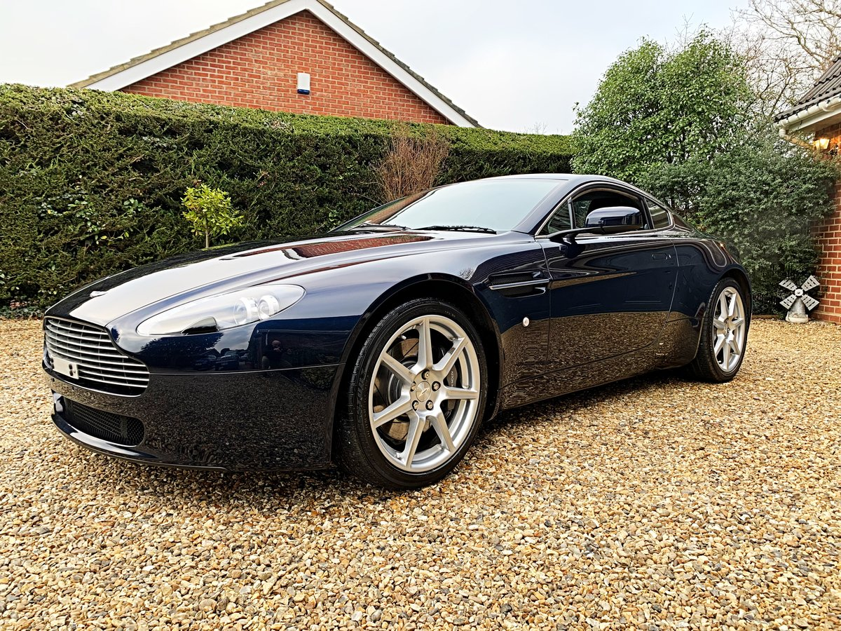 2006 Aston Martin V8 Vantage Coupe (NOW SOLD SIMILAR REQUIRED) For Sale (picture 3 of 6)