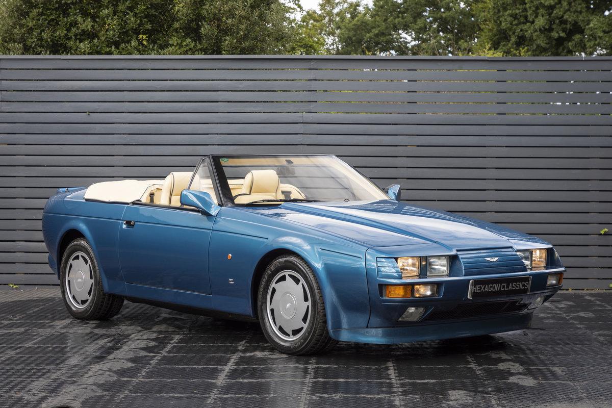 1989 ASTON MARTIN  V8 ZAGATO VOLANTE For Sale (picture 4 of 22)